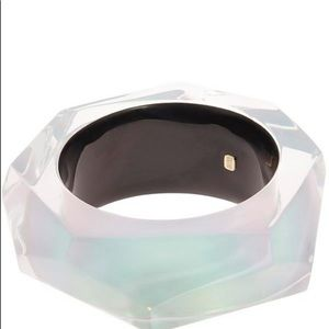 Alexis Bittar Women' Large Faceted Bangle Bracelet